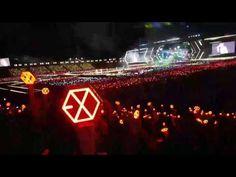 Biển lightstick tuyệt đẹp của EXO-L ở Jamsil ♥ 170527 #EXOrDIUMDotinSeoul - YouTube