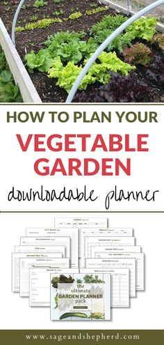 How to plan your vegetable garden the easy way! Planning your garden doesn't have to be hard, it can be done in less than 10 steps, with a printable planner! Starting A Vegetable Garden, Vegetable Garden For Beginners, Gardening For Beginners, Gardening Tips, Raised Garden Beds, Printable Planner, Things To Do, How To Plan, Canning
