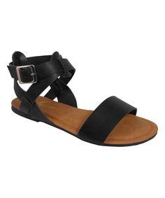 Black Olive Sandal