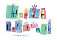 Gifts of Joy - Hanukkah Greeting Cards in Deep Turquoise | Hallmark