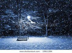 picture:) pretty snow:) - snowing Photo