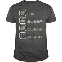 EAT SLEEP CLIMB REPEAT TOWER DAWG T-Shirts, Hoodies. CHECK PRICE ==►…
