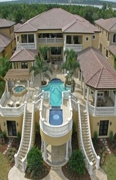 Images About Dream Houses On Pinterest Mansions Pools And House