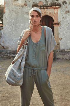 Cloth & Stone | Drawstring Jumpsuit #ClothandStone #jumpsuit