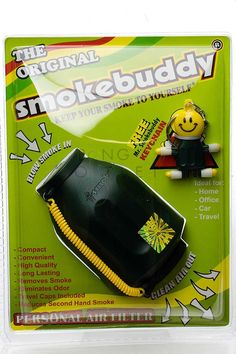 Smokebuddy Original Personal Air Filter - Dark green Car Office, Air Filter, Two Hands, Ideal Home, Filters, Smoking, How To Remove, The Originals, Dark