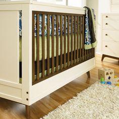 modern vintage crib