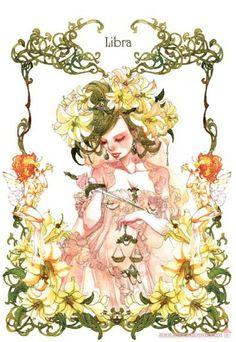 Zodiac Libra Sakizou Artwork