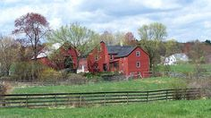 Northern New England Country Farm (re-post small size by special request) (32 pieces)