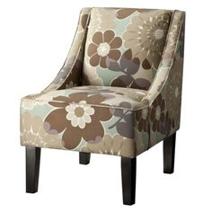 Swoop Upholstered Accent Chair - Mia Quartz.Opens in a new window