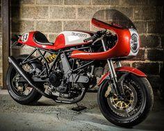 ϟ Hell Kustom ϟ: Ducati SS900 By Barn Built Bikes