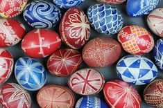 bulgarian-decorated-eggs   Our Species: Around The World   Pinterest