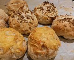Rezept Schnelle Frühstücksbrötchen GLUTENFREI von Pelma - Rezept der Kategorie Brot & Brötchen