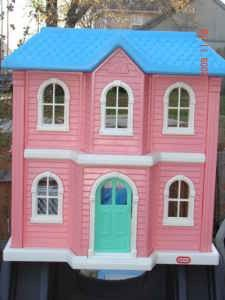 Large Barbie Size Little Tikes Doll House I Had This