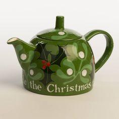 Christmas Teapot ....