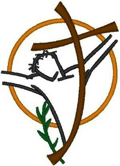 """The term crucifixion comes from the Latin crucifixio, """"fixing to a cross"""". Learn Embroidery, Hand Embroidery Stitches, Embroidery Needles, Machine Embroidery Patterns, Hand Embroidery Designs, Embroidery Techniques, Embroidery Digitizing, Embroidery Ideas, Christian Symbols"""