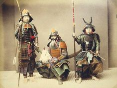 Samurai with Weapons