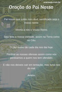 Oração do Pai Nosso #painosso #oracaoja