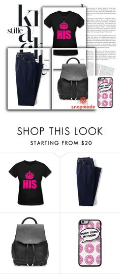 """""""Snapmade 1."""" by b-necka ❤ liked on Polyvore featuring Lands' End, rag & bone and snapmade"""