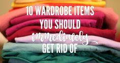 Wardrobe clutter: Do you stand in front of your wardrobe, doors open, frowning at the contents? You do? Take heart. Declutter starting with...