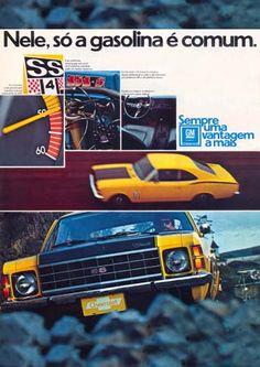 15655GM - CHEVROLET - Opala SS - Nele , só a gasolina é comum.