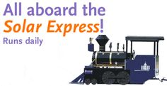 Stepping Stones Museum - Solar Express Train Ride