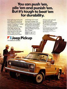 1982 Jeep Pickup ad