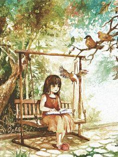 robin reading