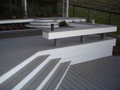 1000 images about garden ideas on pinterest composite for Grey decking garden ideas