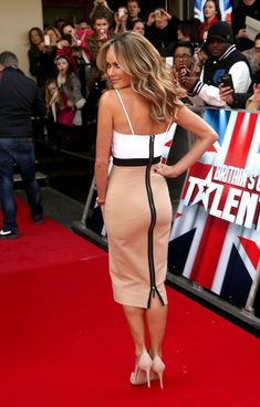 Amanda Holden Photos: 'Britain's Got Talent' Auditions Held in London — Part 3.  Pretty hair!