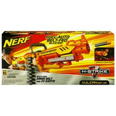 The ultimate in Nerf action. flying darts whizzing by. Non stop, fast paced action. I have free shipping on this item to any location in Australia.
