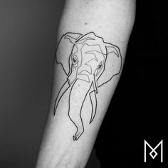 100 Incredible Tattoos Created Using A Single Continuous Line By Mo Ganji Stencils Tatuagem, Tattoo Stencils, Tattoo Fonts, Trendy Tattoos, New Tattoos, Tattoos For Women, Colorful Tattoos, Quote Tattoos, Anchor Tattoos