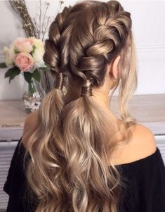 Trendy Hair Highlights : Balayage application & finished +Tips; Trendy hairstyles and colors Women hair colors; women How to Dutch Braid Your Own Hair - Chicbetter Inspiration for Modern Women Cute Braided Hairstyles, Box Braids Hairstyles, Trendy Hairstyles, Wedding Hairstyles, Creative Hairstyles, Beautiful Hairstyles, Fashion Hairstyles, Hairstyles Pictures, Hairstyles Videos