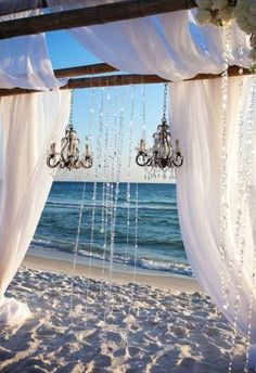 Won't have a Beach wedding ceremony. But this is gorgeous Rosemary Beach Wedding Wedding Bells, Wedding Ceremony, Beach Ceremony, Ceremony Backdrop, Beach Backdrop, Perfect Wedding, Dream Wedding, Fall Wedding, Rustic Wedding