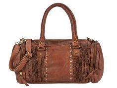 Billy The Kid FRILLED - Leder Shopper DEJA Shoulder Bag Ladies Handbag - 2 Colors