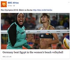 """BBC Africa called it a battle of """"Bikini vs Burka."""" 