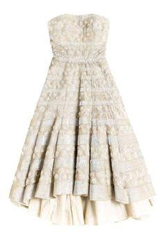 stunning short wedding dress
