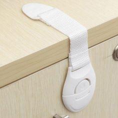 Kabinetts Sicherheitsschloss für Kinder Verschlüsse mit Gurtband Baby Schutz