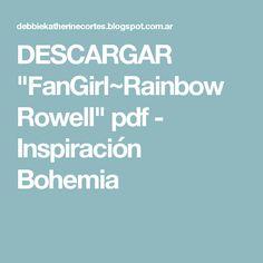 Rainbow Rowell Pdf