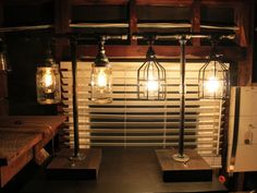 Industrial Chic Lamps by RizzoAndCrane