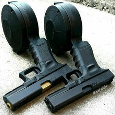 This pair Save those thumbs & bucks w/ free shipping on this magloader I purchased mine http://www.amazon.com/shops/raeind   No more leaving the last round out because it is too hard to get in. And you will load them faster and easier, to maximize your shooting enjoyment.
