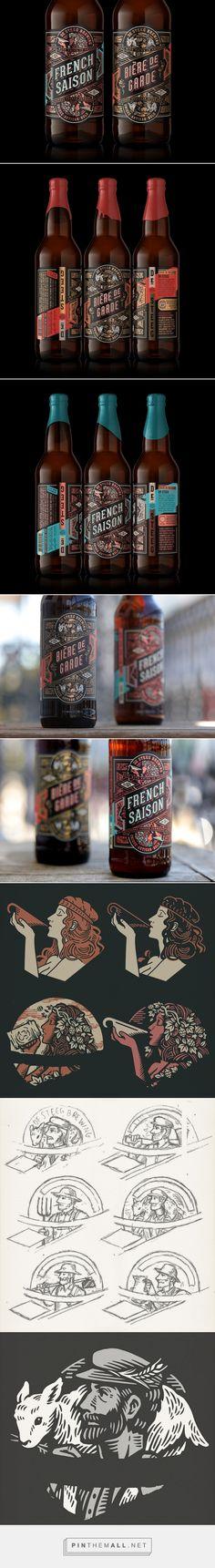 De Steeg Brewing beer packaging design by TILT - http://www.packagingoftheworld.com/2017/04/de-steeg-brewing.html