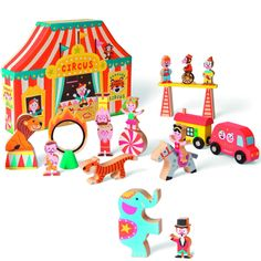 The circus is coming to town!!!  Piccolini NYC - Circus Set, $89.00 (http://www.lovepiccolini.com/circus-set/)