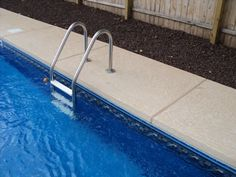 Concrete Pool Deck With Coordinating Coping Concrete Pool Decks Pinterest Concrete Pool