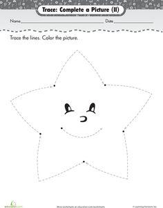 Worksheets Star Worksheets supermom worksheets and wednesday on pinterest