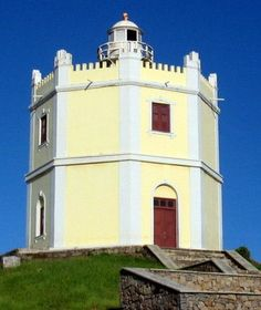 """The old lighthouse of Mucuripe, Fortaleza, Ceará, (located in Northeastern Brazil) was built by the slaves between 1840 & 1846 (it's one of the oldest buildings in Fortaleza). This lighthouse was the main source of orientation for ships approaching Fortaleza until 1957 (it became known as """"Olho do Mar"""", or """"Eye of the Sea""""), when it was deactivated."""