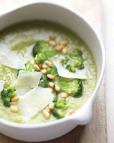Creamy Broccoli-White Bean Soup