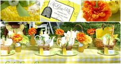 Queen Bee table setting