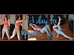21 Day Fix- UPPER beachbody slim down with sara
