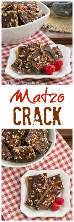 Matzo Crack | An addictive toffee treat!