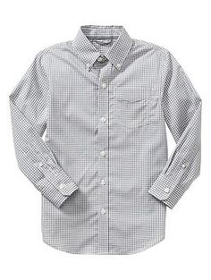 This would look great with the sleeves rolled up for one of the boys. Gap. $34.95